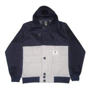 Crooks and Castles - Naval Speckle Jacket - The Hidden Base
