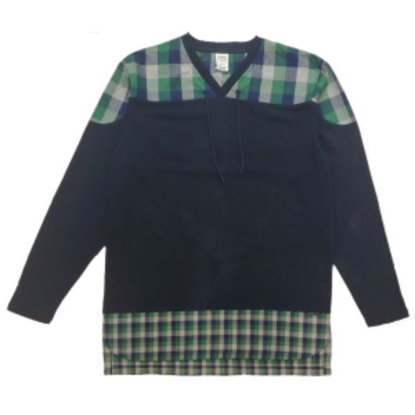 Crooks and Castles - Checkered L/S Tee