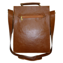 Load image into Gallery viewer, Akomplice -  Tan Leather Laptop Bag - The Hidden Base