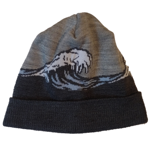 Raised By Wolves - Frozen Wave Beanie - The Hidden Base