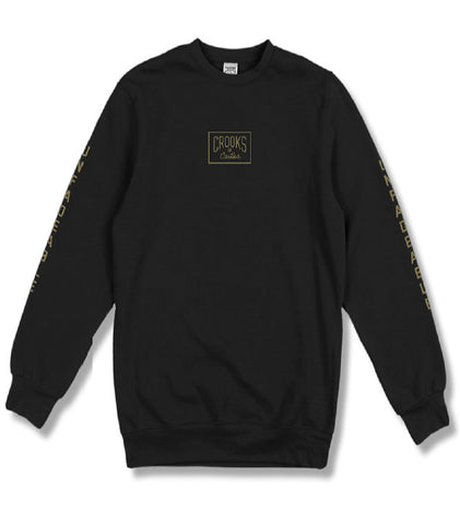 Crooks and Castles - Fades Crewneck Sweatshirt - The Hidden Base