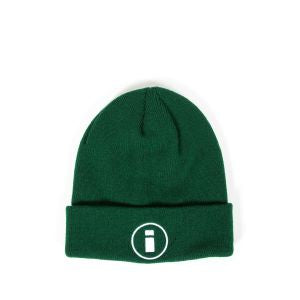 INDCSN - Circle Logo Beanie Green - The Hidden Base