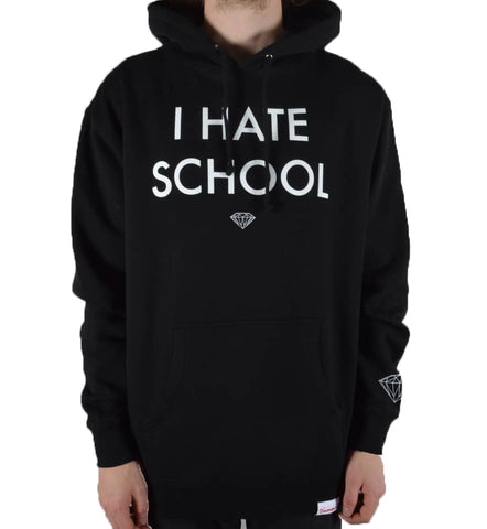 Diamond Supply Co - I Hate School Hoodie - The Hidden Base