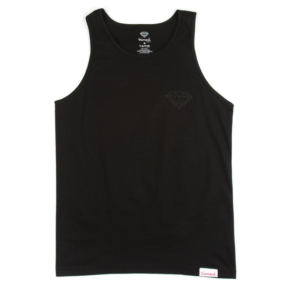 Diamond Supply Co - Tonal Chest Brilliant Tank Top - The Hidden Base