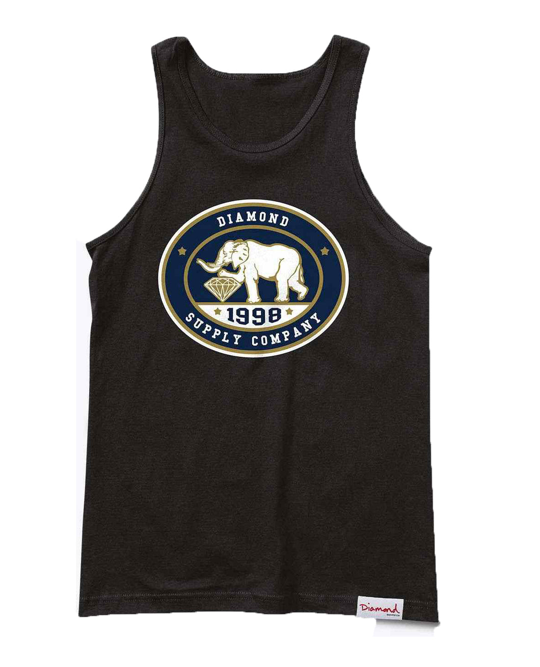 Diamond Supply Co - Pushing Jewels Tank Top - The Hidden Base