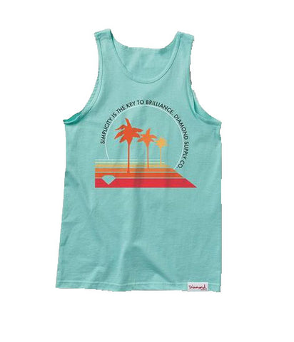 Diamond Supply Co - Palm Vibes Tank Top - The Hidden Base