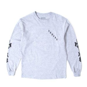 INDCSN - X My Heart LS Grey Tee - The Hidden Base