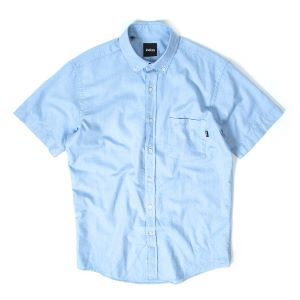 INDCSN - Costanza S/S Oxford Shirt Blue - The Hidden Base