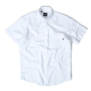INDCSN - Costanza S/S Oxford Shirt White - The Hidden Base