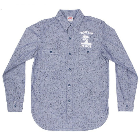 TSPTR - Work For Peace Button Down Shirt