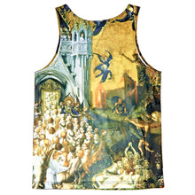 Load image into Gallery viewer, Black Scale - Apocalypse Tank Top - The Hidden Base