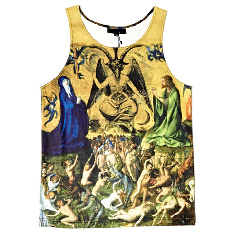 Black Scale - Apocalypse Tank Top - The Hidden Base
