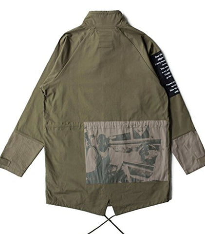 Crooks and Castles - Vultures Trench Coat
