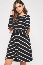 The Jasmine Striped Dress