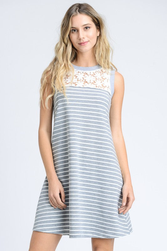 The Daisy Dress - Grey