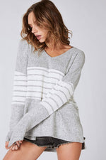 Brushed Hacci Sweater