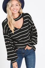 Thermal Striped Top