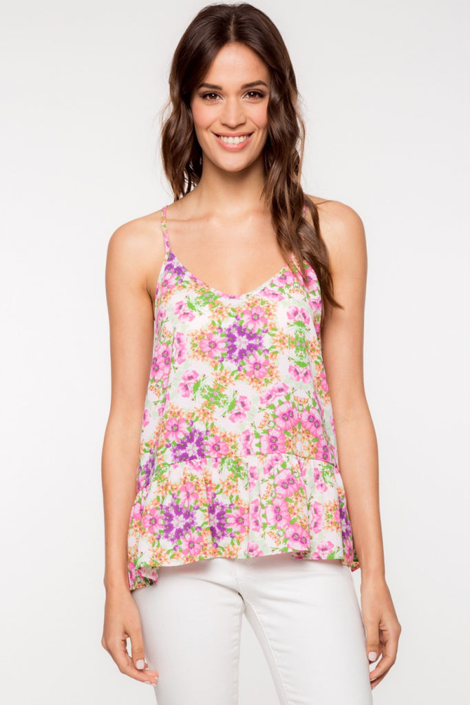 Everly: Flower Power Tank
