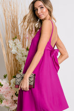 Lindsay Plum Dress