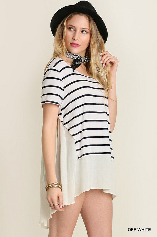 Spring Fever Striped Tee