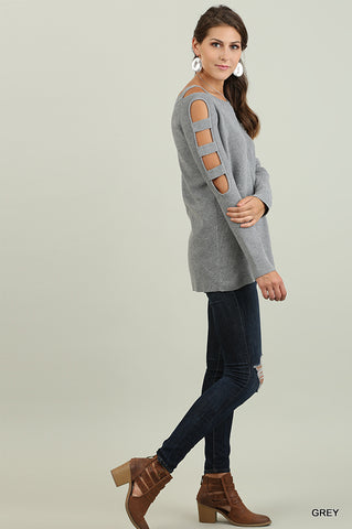 The Carly Cutout Sweater