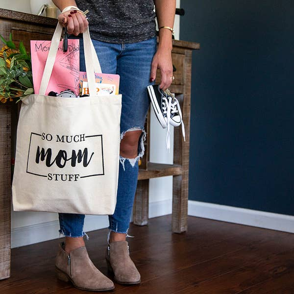 So Much Mom Stuff Tote