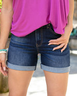 Grace and Lace Mid Rise Super Stretch Shorts