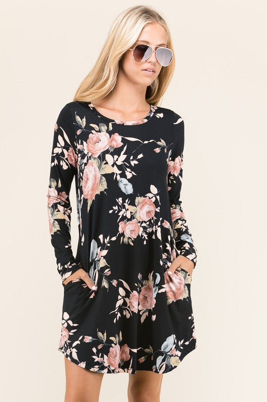 The Emma Floral Print Dress