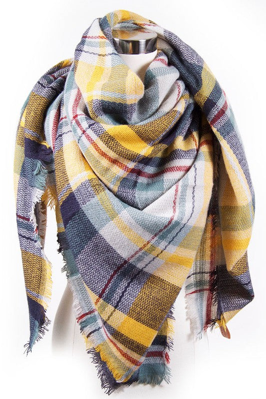 Best Selling Blanket Scarf - Mint