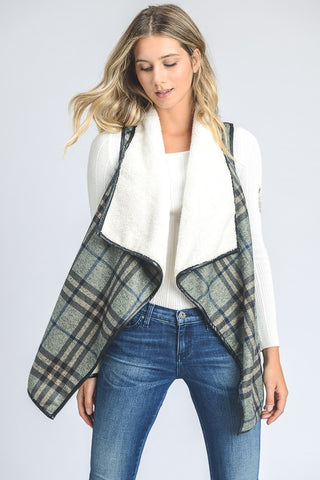 The Hope Mint Plaid Vest
