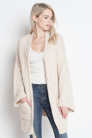 The Classic Cardigan - Ivory