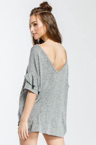 The Lindsay Scallop Hem - S-XL