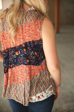 Grace & Lace Patchwork Top