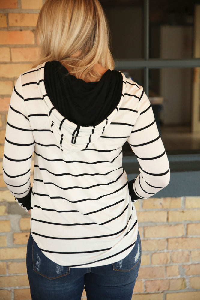The Lucy Striped Pull Over