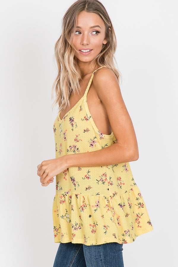 Sunray Floral Tank