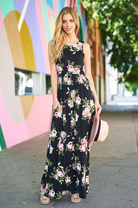 The Natalie Floral Maxi