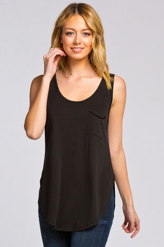 The Basic Pocket Tank - Black