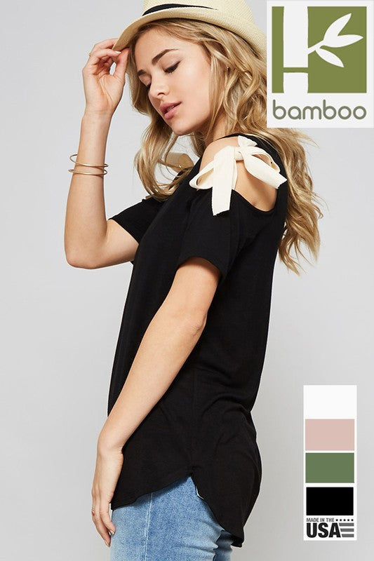 The Nicole Bow Top