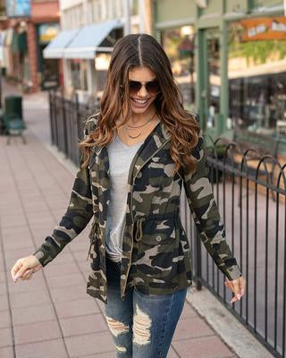 Grace and Lace Camo Jacket
