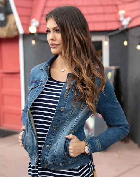 Grace & Lace ultimate denim jacket