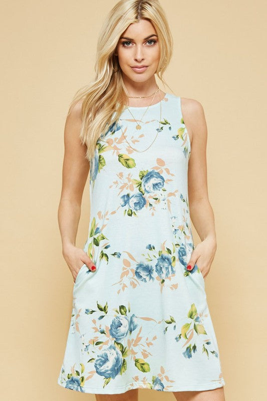 The Alison Floral Dress with Pockets