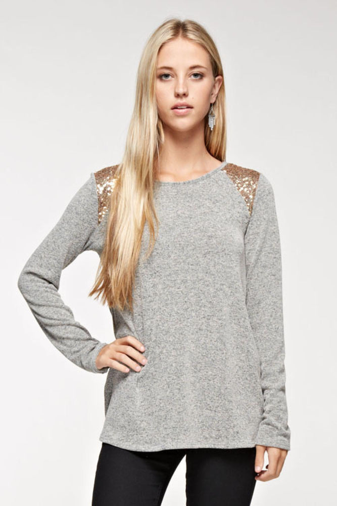 Sparkle Sequin Top