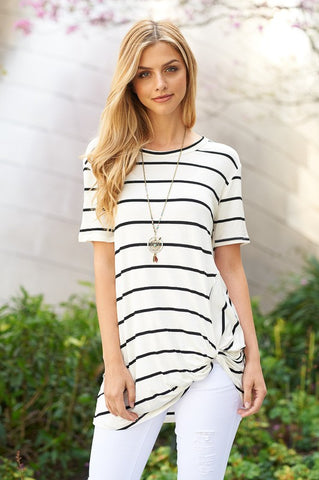 The Macy Striped Tee