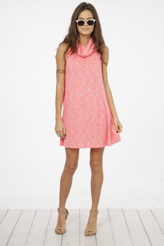 Flamingo Neon Pink Dress