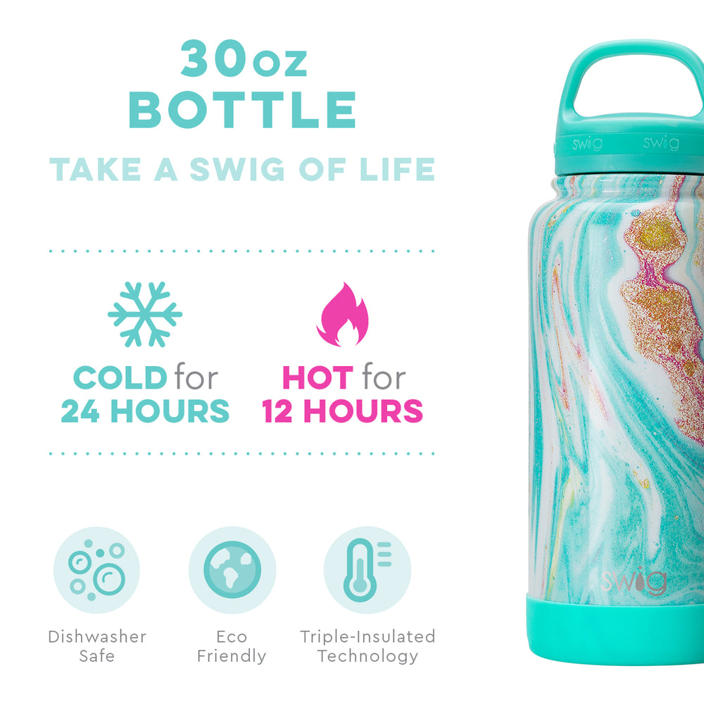 Swig Wanderlust Water Bottle - 30 Ounces