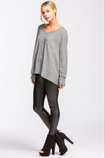6th Day of Christmas - Cherish V-Neck Long Sleeve Top