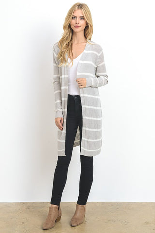 The Doe Long Cardi