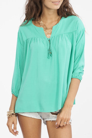 The Dixie Top with Elbow Patches