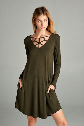 The Emily Raglan Dress