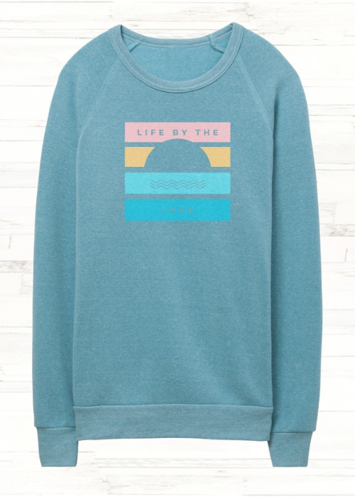 LIfe By the Lake Crew Neck Sweatershirt
